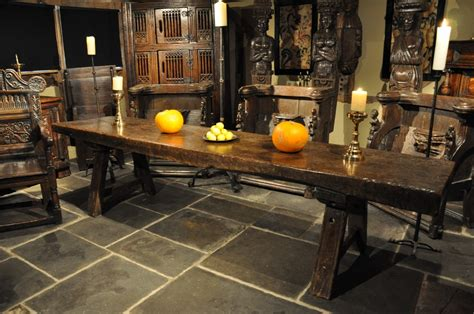 A Truly Magnificent Tudor Oak Trestle Table From The Late Livingroom Packages Light Orange Living Room Ideas Sets Richmond Va Furniture Sam's Club Divider For Letak Cloud Lounge And Jakarta Coastal Pics Kitchen Canister Ceramic