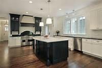 black and white kitchen 52 Dark Kitchens with Dark Wood and Black Kitchen Cabinets