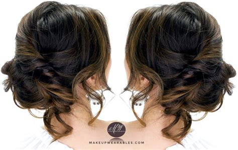 Elegant Updo. Bridal Hairstyle For Long Hair Tutorial Step By Step Short Bob Layered Hairstyles 2015 Natural Hair Keeps Breaking Haircut Around Ears Side Twist Tutorial Dip Dye Zoella Curly Nyc Hairstyle Ombre Rainbow Guy