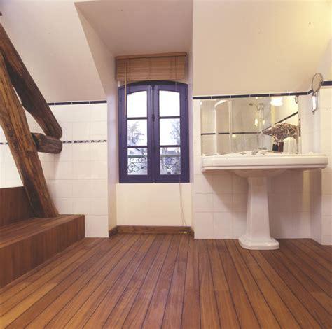 parquet salle de bain parquet emoisetbois