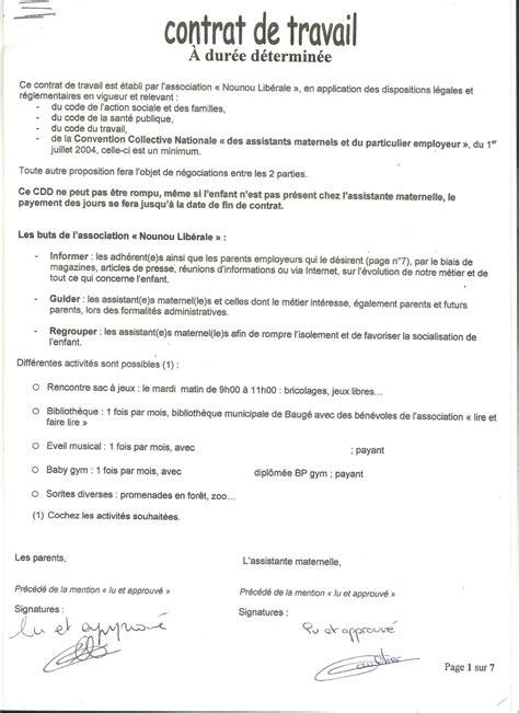 assistante maternelle cdd mon salari 233 question 309269