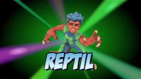 Super Hero Squad Online  Reptil Vignette Youtube