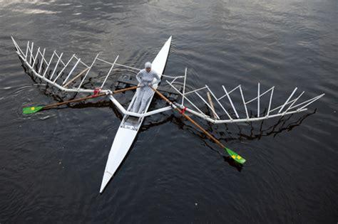 Roeiboot Riem by Roeien En Kunst Verenigd In Speciale Boot De Enghel