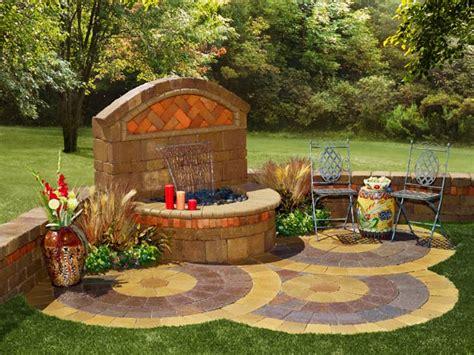 Outdoor Garden Wall Fountains Design Ideas Models-home