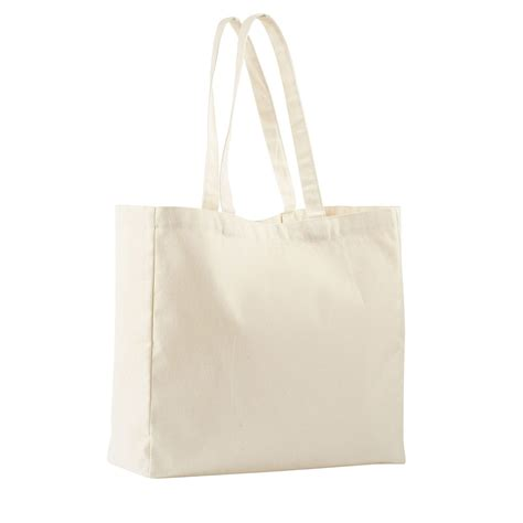 sac shopping pliable en coton naturel delsec20 le sacasec20 sacs coton personnalises
