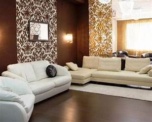 Moderne Tapeten Wohnzimmer : tapeten f r wohnzimmer w hlen 17 ideen f r moderne wandgestaltung ~ Markanthonyermac.com Haus und Dekorationen