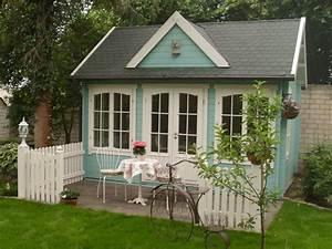 Gartenhaus Shabby Chic : gartenhaus einrichten ideen f r ihr clockhouse ~ Markanthonyermac.com Haus und Dekorationen