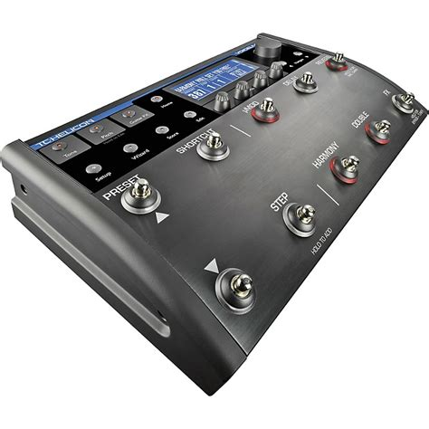 tc helicon voicelive 2 floor based vocal processor musician s friend