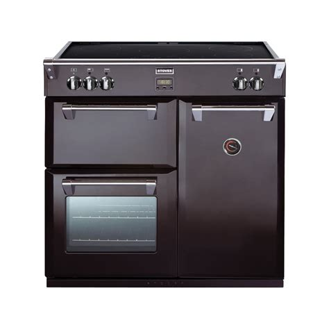 stoves richmond 900ei black 90cm electric induction range cooker black stoves from powerhouse