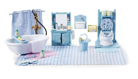 calico critters master bathroom set accessories