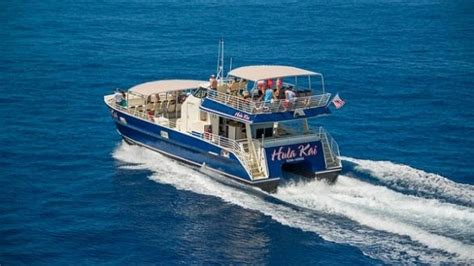 Catamaran Fair Winds Hawaii by Luxury Snorkel Cruise Along Kona Coast Big Island Fair