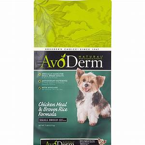 AvoDerm Natural Small Breed Chicken Meal & Brown Rice ...