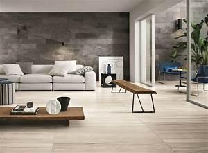 Wohnzimmer Boden Grau : graue fliesen f r wand und boden 55 moderne wohnideen ~ Markanthonyermac.com Haus und Dekorationen
