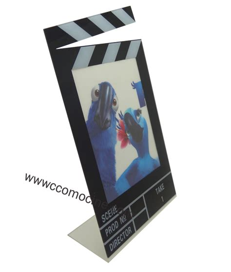 agencement et decoration gt accessoires gt cadre photo clap ccomocin 233 fauteuil de cin 233 ma