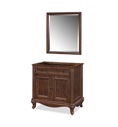 ryvyr v malago 36dm malago 36 quot antique bathroom vanity in distressed maple finish