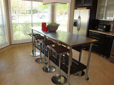 Kitchen Island Table. We've Had This For A Few Years And Flooring Tools Okc Unfinished Red Oak Atlanta Discount Hardwood In Los Angeles Tarkett Stockists Glasgow Commercial Queensland Stains For Formica Farmhouse Sheet Vinyl Bathrooms