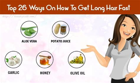 Top 26 Ways On How To Get Long Hair Fast