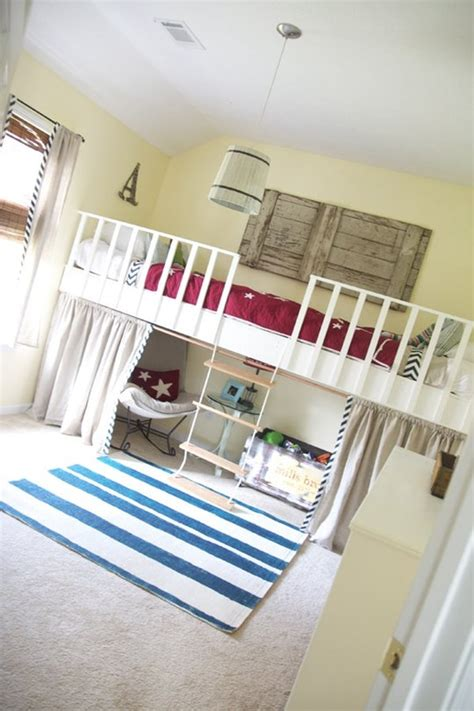 how to diy a loft bed renters solutions apartment therapy