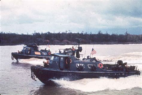 Swift Water Boat by The Swift Boats Of The Brownwater Navy In Vietnam