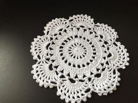tuto napperon au crochet