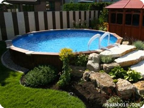 aboveground pool posts