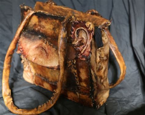 a backward farmhand collected human parts to create something truly macabre boredombash