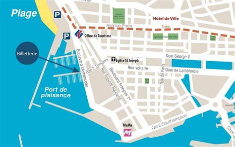 visite du port du havre en bateau nous situer