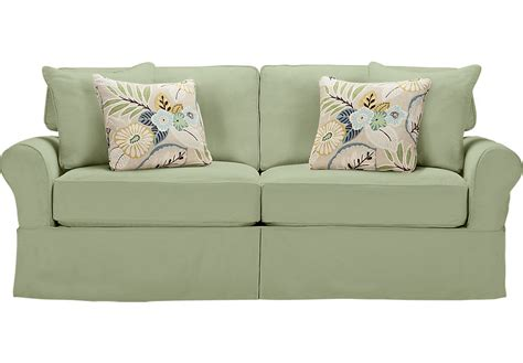 home beachside green sofa sofas green