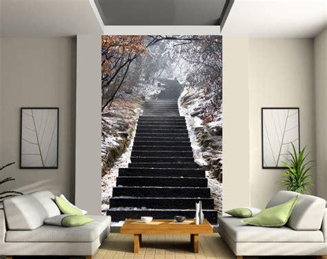charming trompe l oeil mural grand format 11 d 233 co stickers prestabox sedgu