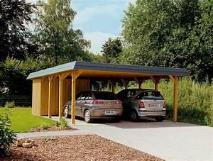 Auto In Der Garage : holz carport skanholz spreewald walmdach doppelcarport vom garagen fachh ndler ~ Whattoseeinmadrid.com Haus und Dekorationen
