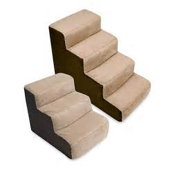 Pet Stairs For Beds by Padded Pet Stairs Www Bedbathandbeyond