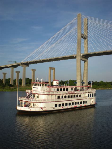 Mississippi Queen Riverboat Cruises by Riverboat Images Photo Courtesy Of Savannah Riverboat