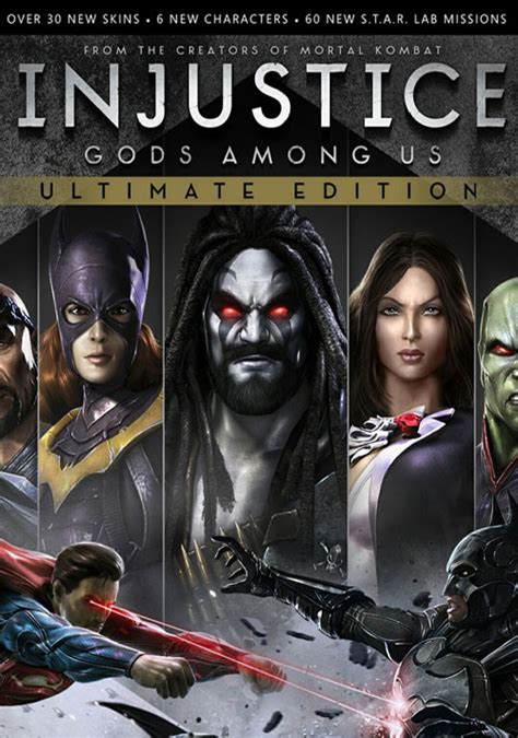 injustice gods among us cover injustice gods among us ultimate edition steam cd key