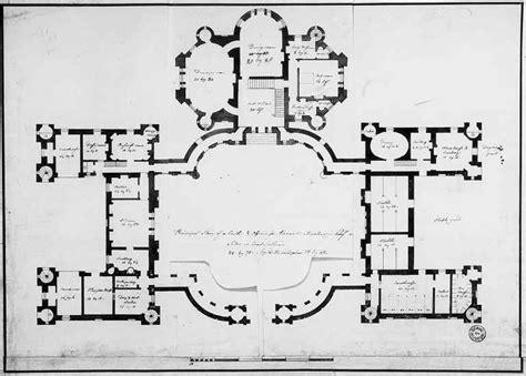 ayton castle floor plans castles palaces house robert adam designs in the castle style