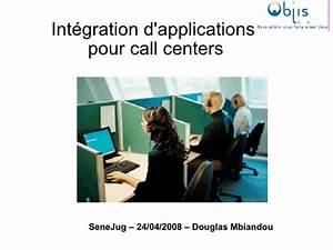 Intégration d'applications pour call centers