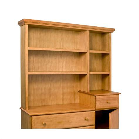 davinci kalani combo dresser honey oak davinci kalani combo wood dresser honey oak hutch ebay