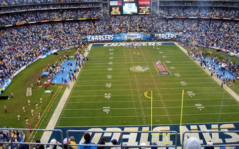 Stadium Nfl San Diego Chargers American Football People