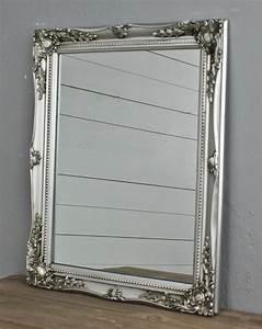 Wandspiegel Antik Silber : spiegel silber holz barock ~ Whattoseeinmadrid.com Haus und Dekorationen