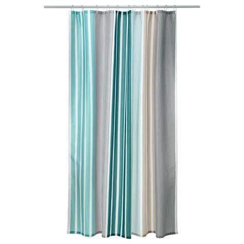ikea rideau de bolman gris turquoise tissu 180 x 200 cm ebay