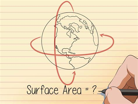 How To Find The Surface Area Of A Sphere 8 Steps (with Pictures