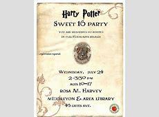 Harry Potter Sweet 16 at Rosa M Harvey Middleton & Area