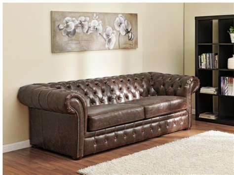photos canap 233 chesterfield convertible cuir