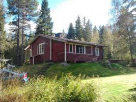 Schweden! Kleines Rotes Ferienhaus Im Wald An Kleinem See