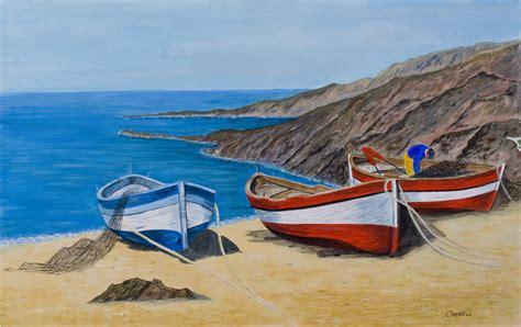 Fishing Boat Art by Fishing Boat Paintings
