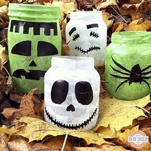 Gruselige Halloween Deko : halloween deko selber machen meine svenja ~ Markanthonyermac.com Haus und Dekorationen