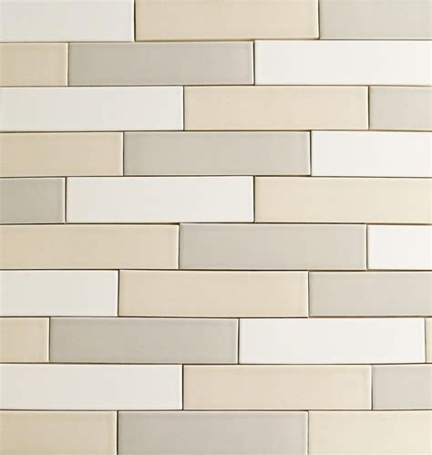 our 2x8 modern ceramic subway tile clayhaus for modwalls