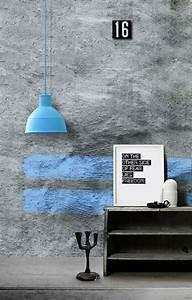 Effekt Farbe Streichen : wandfarbe beton wie kann man eine betonwand streichen ~ Markanthonyermac.com Haus und Dekorationen