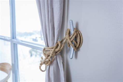 Nautical Curtain Tie-backs Pendant Lighting Over Kitchen Table Fan Light Combo Bathroom Mood For Bedroom Hanging Cabinet With Lights Art Deco Wall The Landscape Book Fixture Outlet Plug