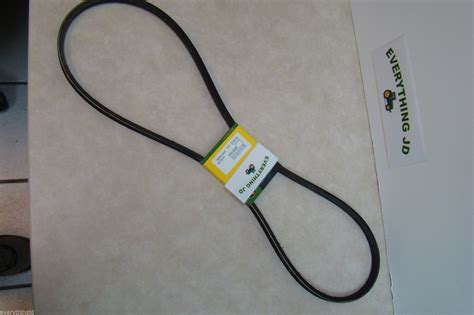 m88184 mower belt for deere stx38 with yellow deck ebay