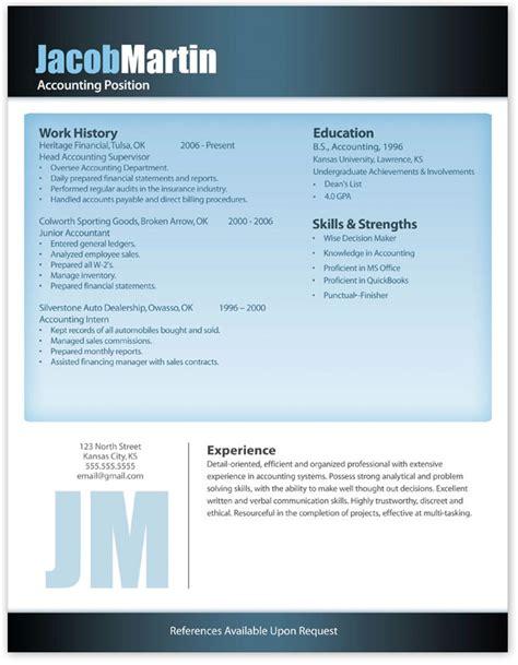 free modern resume template 11 free resume templates
